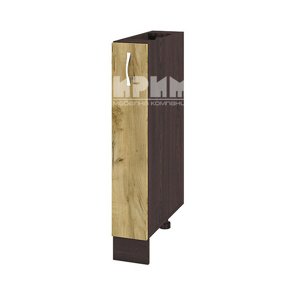 Шкаф за долен ред - бутилиера 15 см - ВД-141
